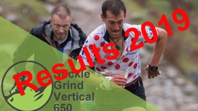 Stickle Grind Vertical 650 - Results 2019