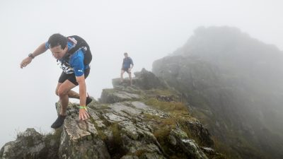 Andrew Berry and local-girl Catherine Slater win the third edition of the Salewa Lakes Sky Ultra