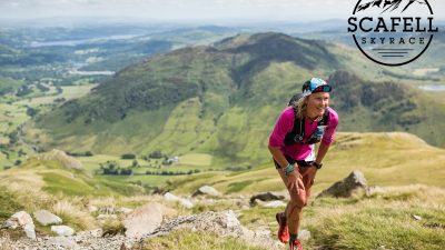 Keswick AC's Tim Campion-Smith and Australia's Lucy Bartholomew win the inaugural Scafell Sky Race