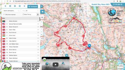 Scafell Sky Race 2021 Open Tracking Link