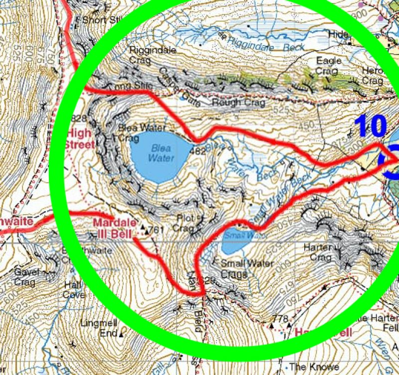 Lsu Map Blea Tarn