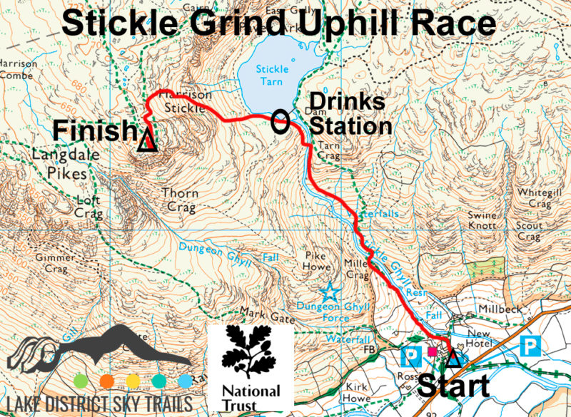 Stickle Grind Uphill Race