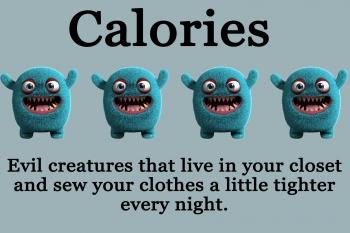 Calories meme