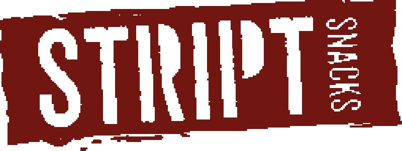Stript logo on header