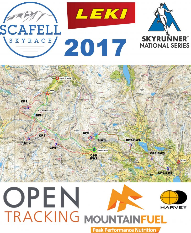 Scafell Sky Race Race Map V2